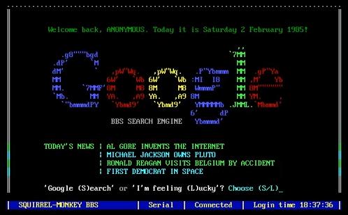 internet anni 80
